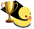 Dux with a Golden Cup